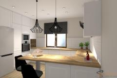 Niekłonice_Edyta Sokół kuchnia Projektowanie Wnętrz