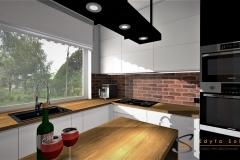 Edyta Sokół kuchnia Projektowanie Wnętrz