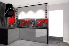 panele_szklane_Edyta Sokół kuchnia Projektowanie Wnętrz