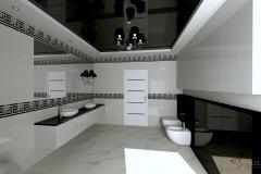 Studio Koszalin Edyta Sokół Projektowanie Wnętrz - łazienka