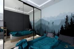 Studio Koszalin Edyta Sokol Projektowanie Wnętrz - sypialnia